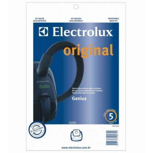 Sacos coletores Electrolux para Aspiradores Genius (kit com 3 sacos)