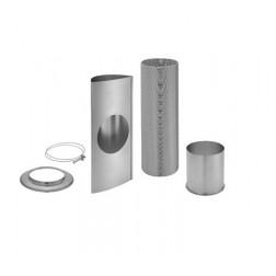 Conjunto Masterlux de Exaustão para Aquecedores de água Electrolux AQ16L, AQ16N, AQ24L e AQ24N